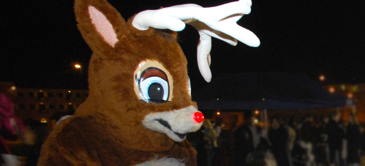 Being Rudolph sucks