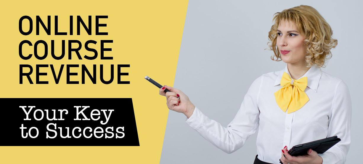 Online course revenue